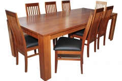 DEVILLE TABLE & CHAIRS