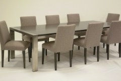 DERWENT TABLE AND MANCINI CHAIRS