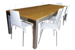 HOBART TABLE /FIRENZE CHAIRS