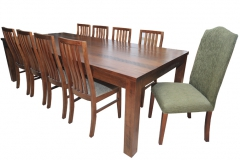 KYNETON TABLE & CHAIRS WITH CAMEL BACK 106 CHAIR