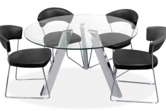 SEVILLE TABLE & BARCELONA CHAIRS
