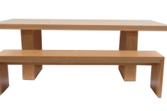 VERONA DINING TABLE AND BENCH SEAT